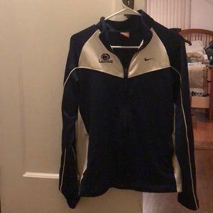 Penn State Lacrosse Nike zip up jacket